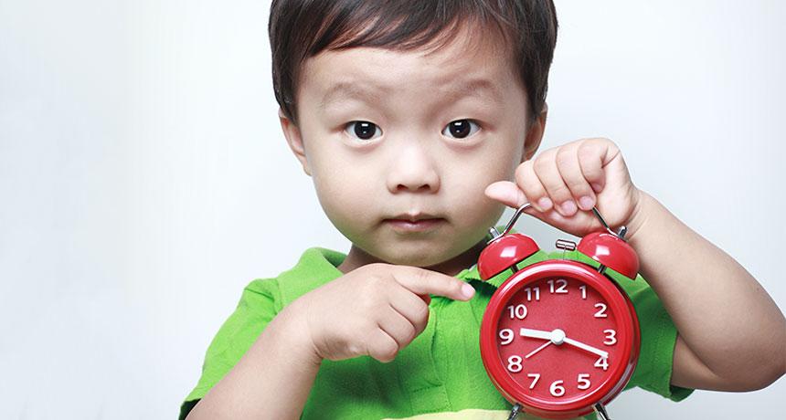 Bambini e gestione del tempo
