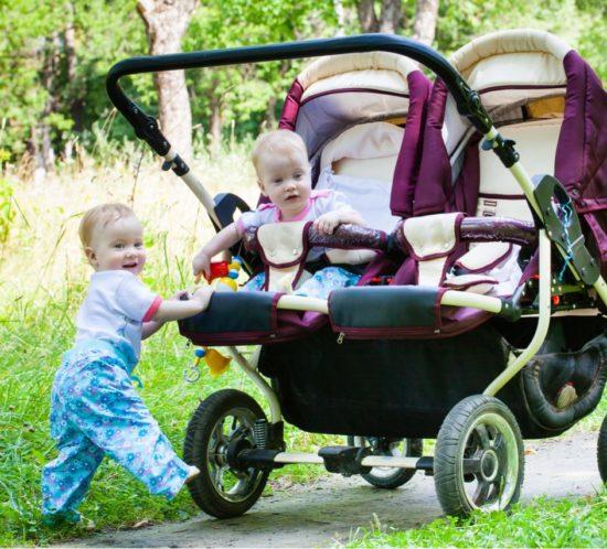 Mamma di gemelli omozigoti e eterozigoti