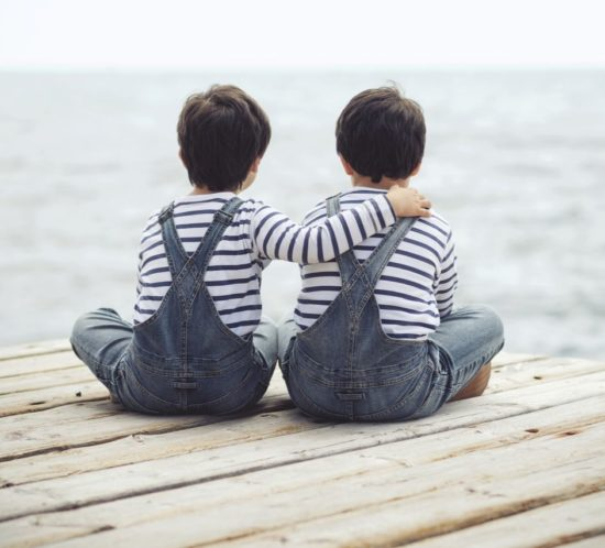 Avere due gemelli senza nessun caso in famiglia