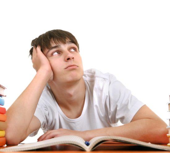 Adolescenza e poca voglia di studiare