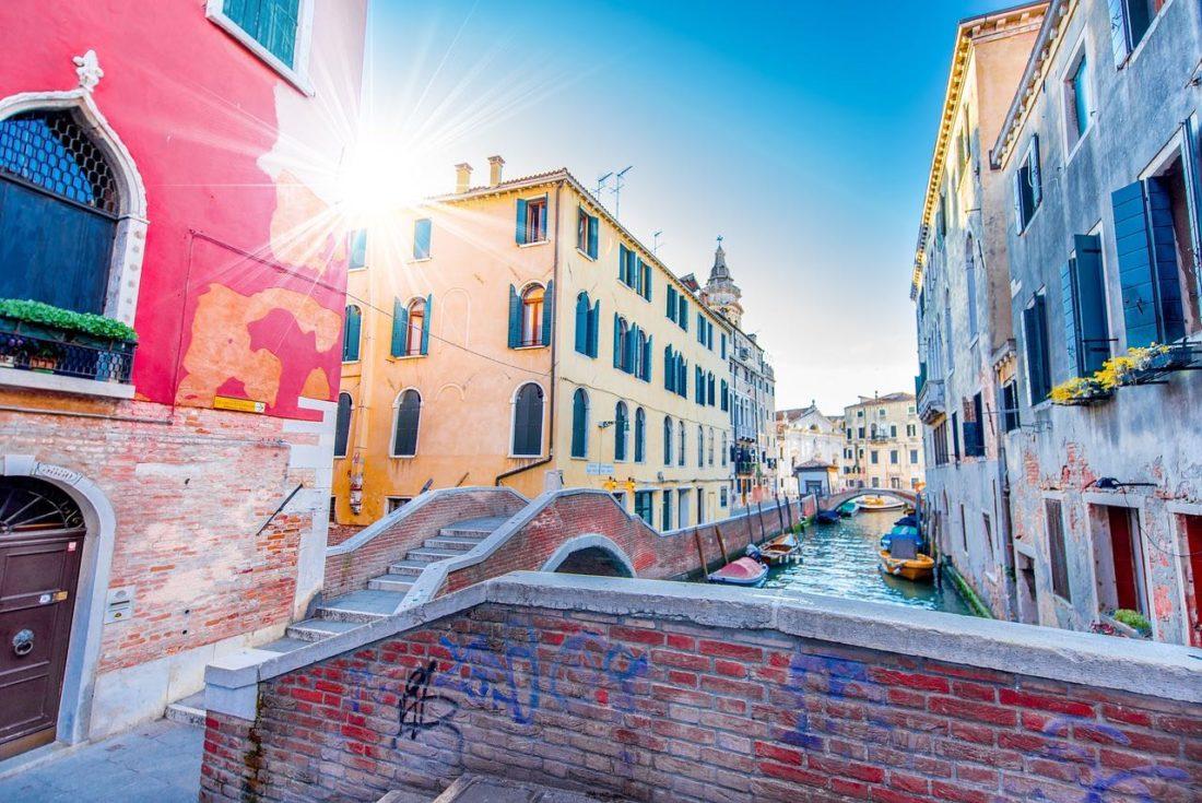 I gemelli e le barriere architettoniche a Venezia