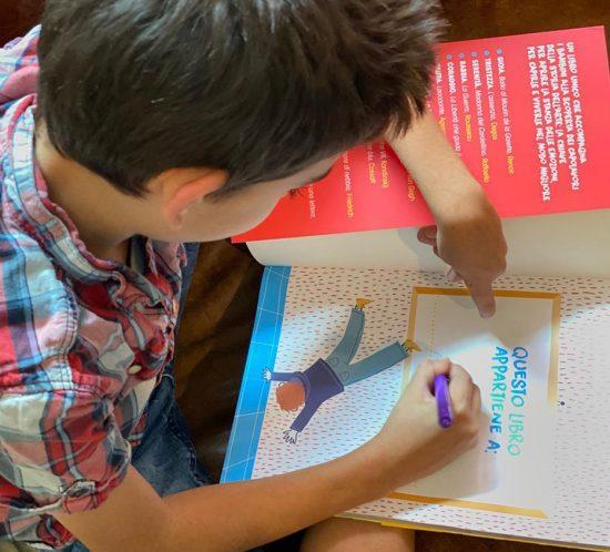 Libro arte per bambini.