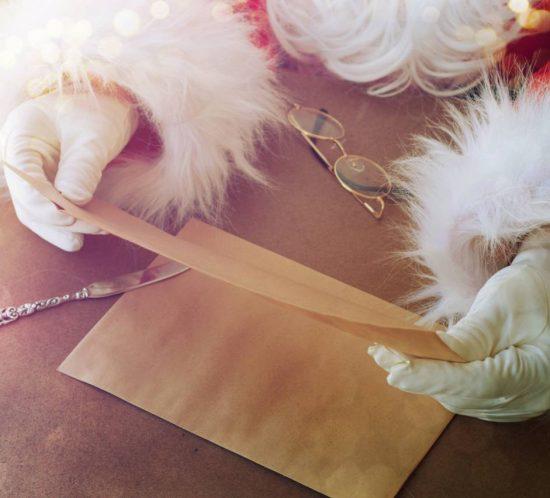 Lettera a Babbo Natale. L'attesa e la meraviglia della lettera